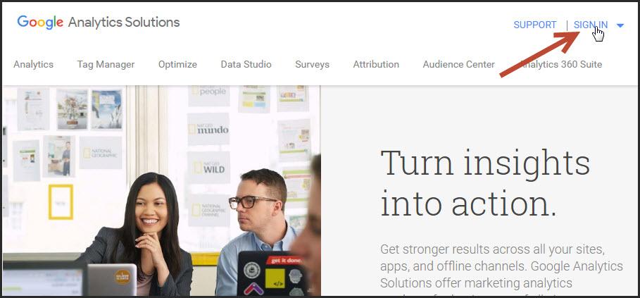 Google Analytics cho WordPress