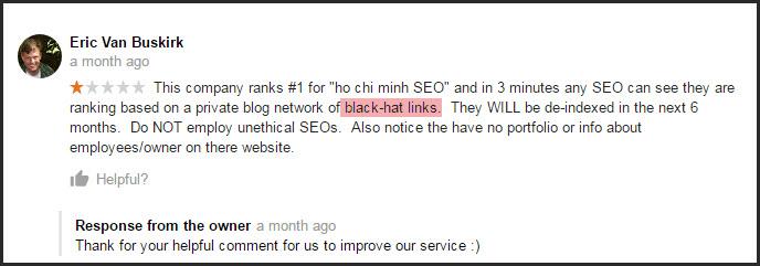 Google standbox với những website spam