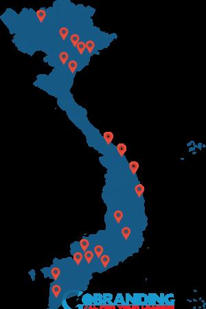 bản đồ Dịch vụ SEO Hà Nội của GOBRANDING