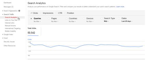 xem-luong-click-tu-khoa-tren-google-webmaster-tool