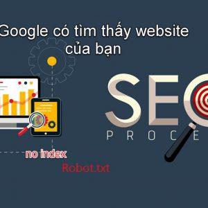 làm sao để website được tìm thấy trên google