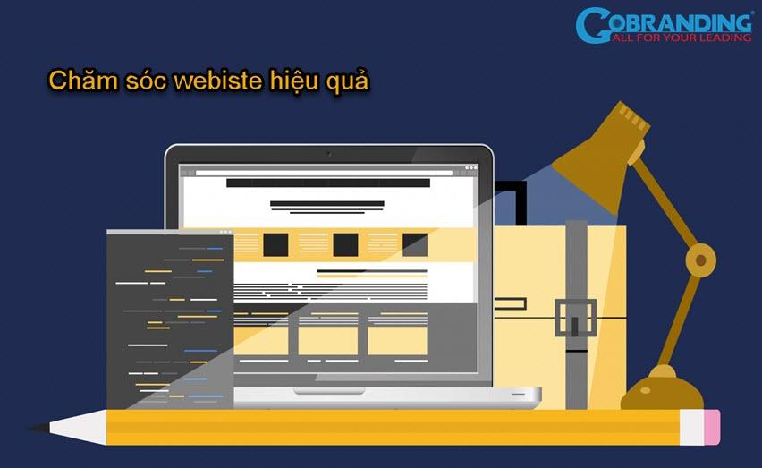Chăm sóc website đơn giản và hiệu quả