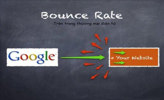 Chi tiết về Bounce rate đối với các trang thương mại điện tử
