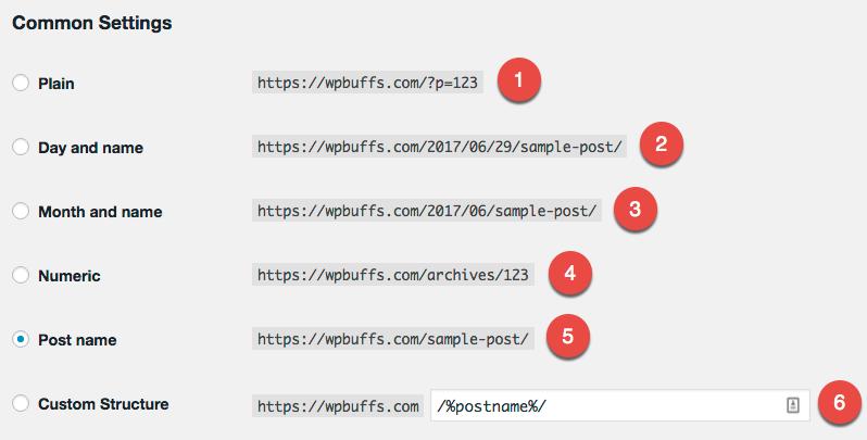Tùy chỉnh url trong wordpress để thân thiện với SEO