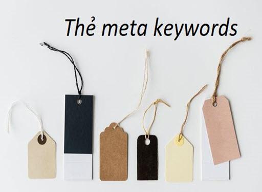 Những điều cần biết về thẻ meta keywords trong SEO