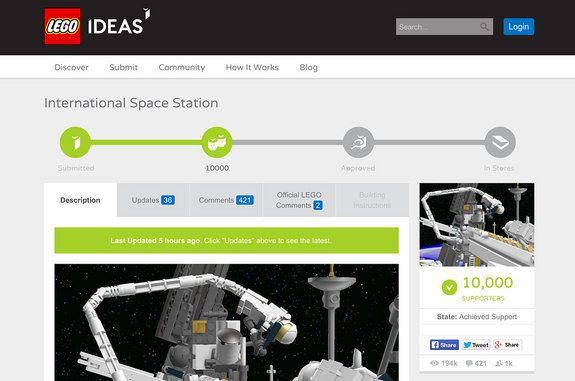 Trang Lego Ideas.