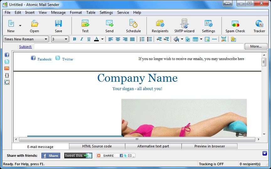 Bạn phải cài phần mềm email marketing vào máy tính