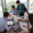 hoạt động văn phòng gobranding hcm
