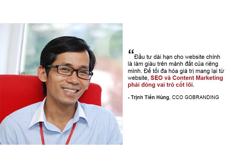 Tối đa hóa giá trị kinh doanh từ website nhờ SEO & Content Marketing