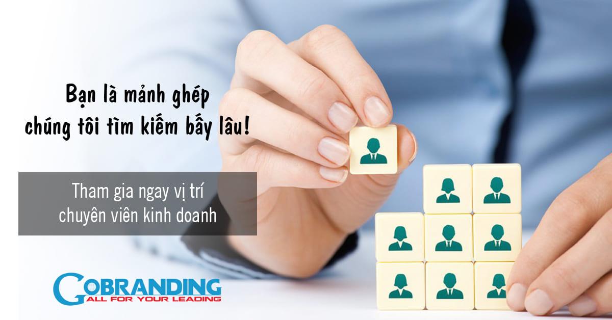 Tuyển dụng Chuyên viên kinh doanh dịch vụ Marketing Online