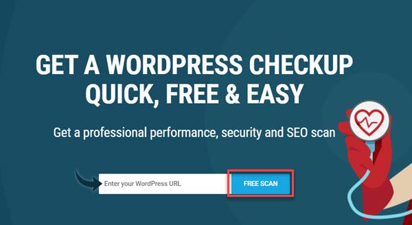 Cách kiểm tra website bằng WP Checkup.