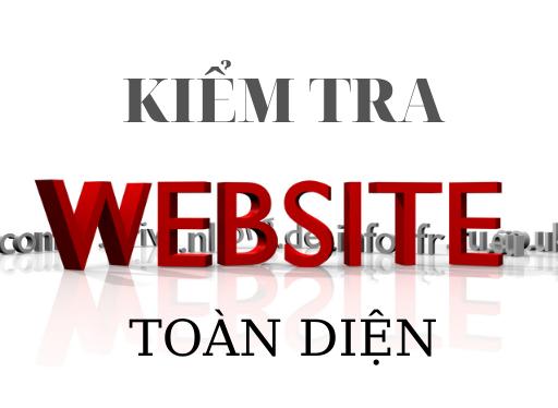 Cách kiểm tra website toàn diện