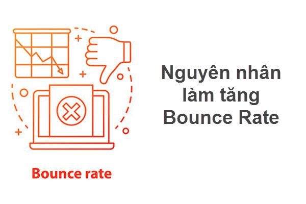 Nguyên nhân khiến bounce rate tăng là gì?