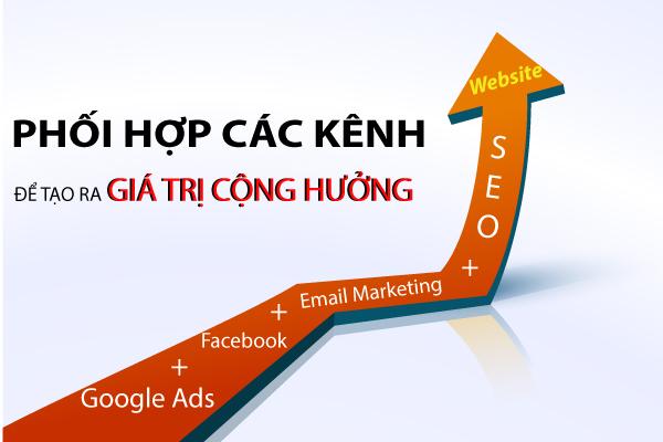 Phối hợp nhiều cách quảng bá website để mang lại hiệu quả cao hơn