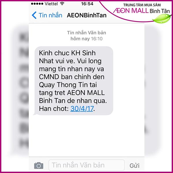 SMS Marketing chúc mừng sinh nhật khách hàng
