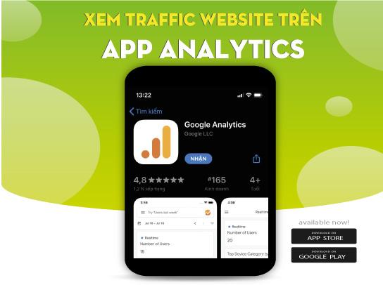 Cách xem Google Analytics trên điện thoại – Sử dụng app Analytics