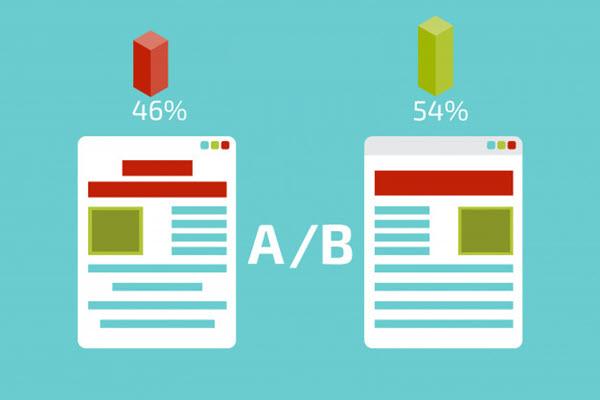 Thử nghiệm A/B để tối ưu tỷ lệ chuyển đổi cho website.