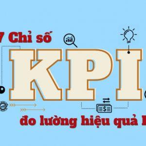 7 chỉ số KPI đo lường hiệu quả PR