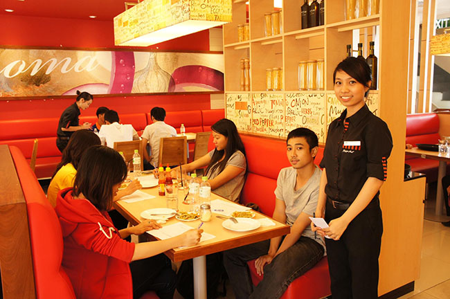 Pizza Hut Việt Nam khảo sát khách hàng.