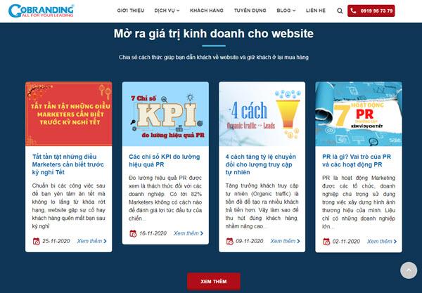 Nội dung bài Blog là một dạng Content Marketing giúp thu hút và giữ chân khách hàng.
