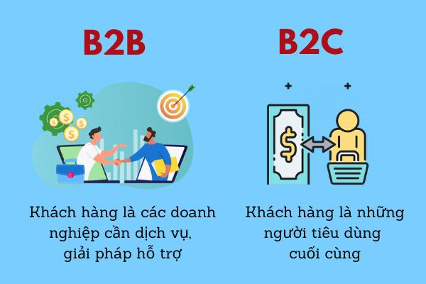 Phân biệt doanh nghiệp B2B và B2C