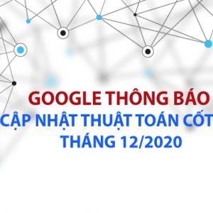 thuật toán google tháng 12/2020
