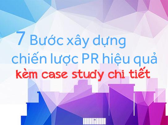 Các bước xây dựng chiến lược PR hiệu quả