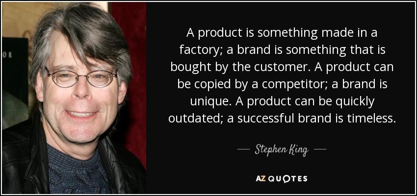 Vì sao phải xây dựng thương hiệu