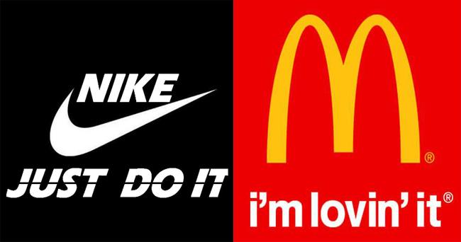 Thông điệp truyền thông của Nike và MC Donald