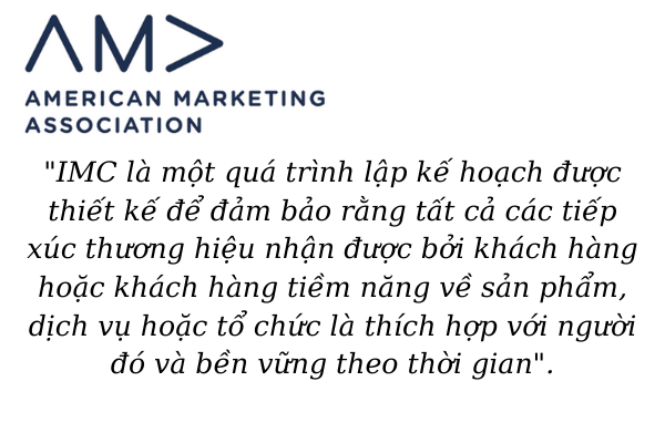 truyền thông marketing là gì hiệp hội marketing Mỹ